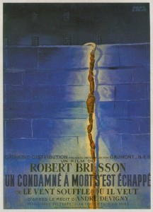 UN CONDAMNE A MORT S'EST ECHAPPE OU LE VENT SOUFFLE OU IL VEUT - French Poster by Paul Colin